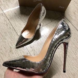 Christian Loubutin So Kate 120 Specchio Heels 35